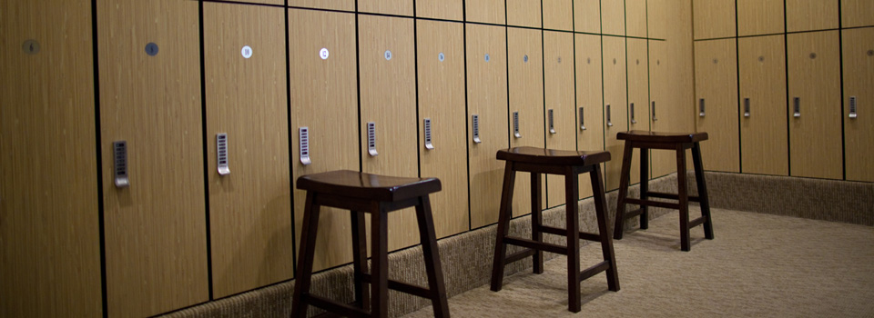 Yoga & Fitness Locker Rooms at INVIVO Wellness Milwaukee